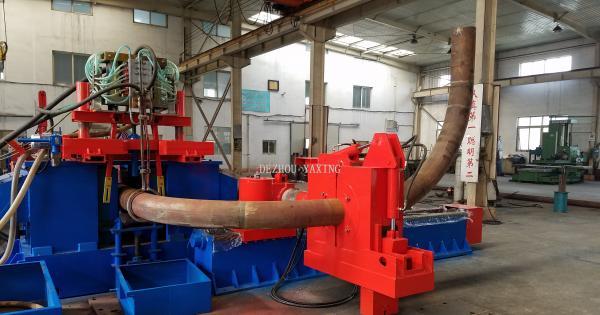 中频加热弯管机的工作原理-德州市亚星管道设备厂
